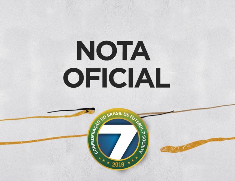 Adiamento Taça Brasil de Futebol 7 - Masculino Adulto