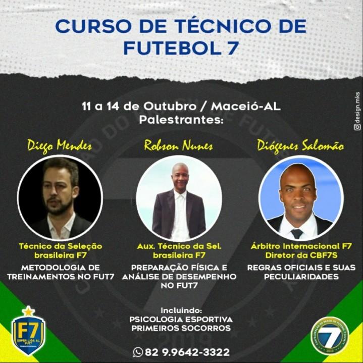 CBF7S lança curso nacional para treinadores de Futebol 7