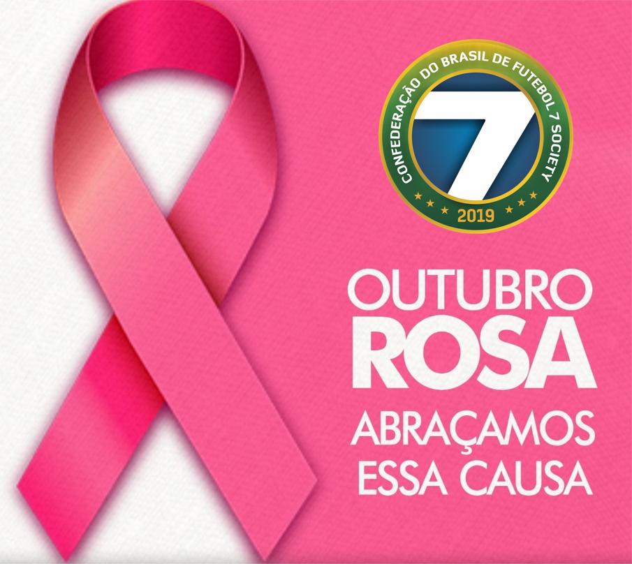 Confederação do Brasil de Futebol 7 Society apoia o Outubro Rosa