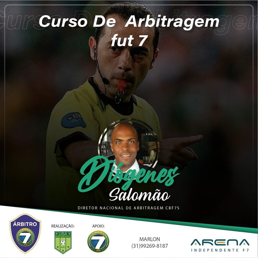 Curso de oficiais de arbitragem de futebol 7 em Minas Gerais