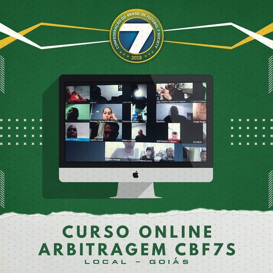 Curso online de oficiais de arbitragem em Goiás