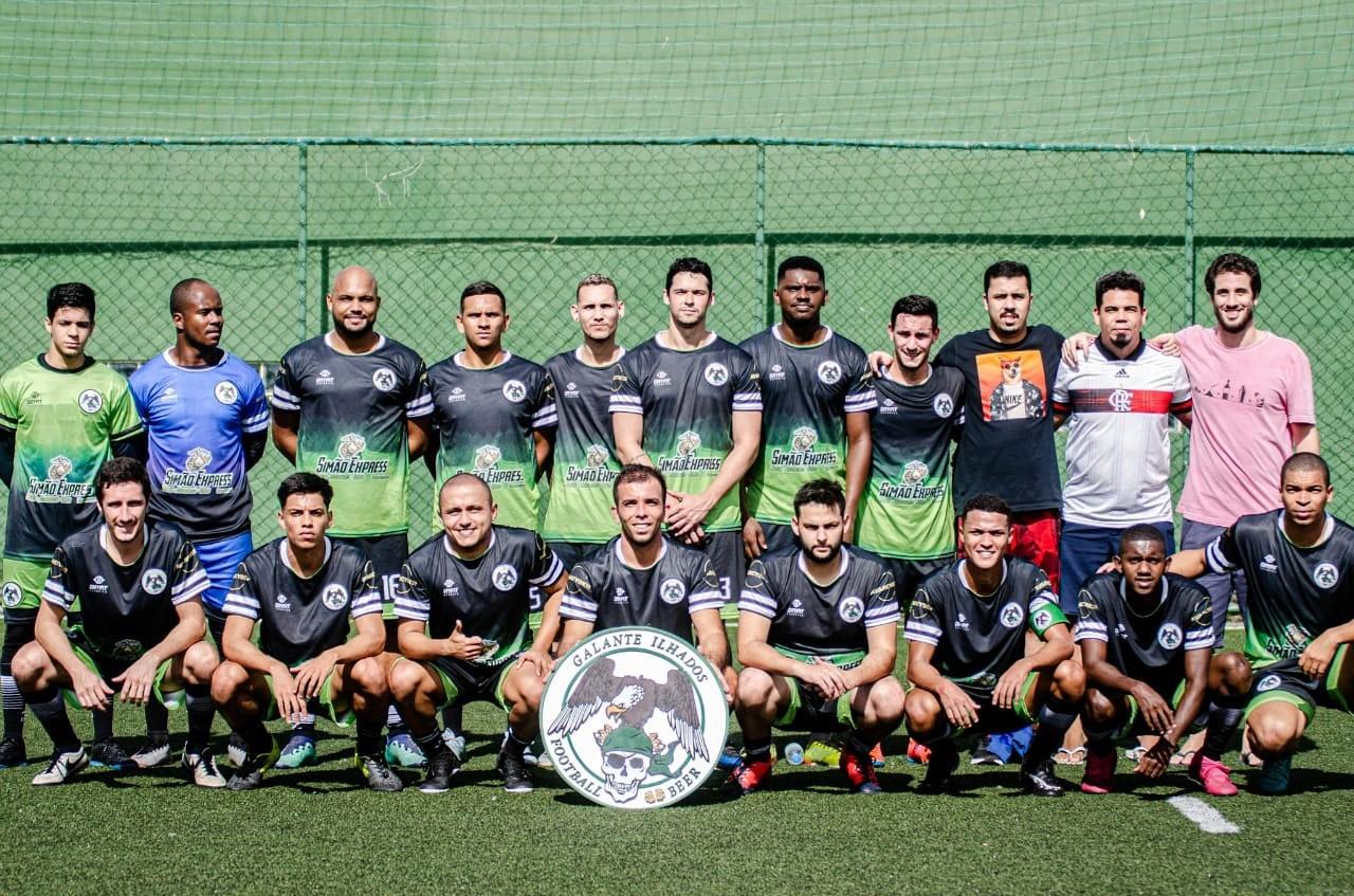 Galante Ilhados confirmado no Campeonato Brasileiro de Futebol 7 - 2020