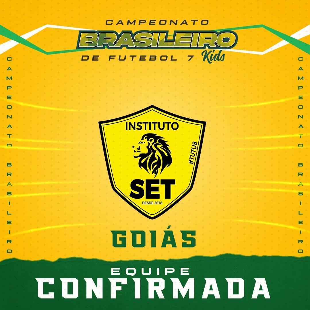 Instituto SET está confirmado no Campeonato Brasileiro de Base 2021