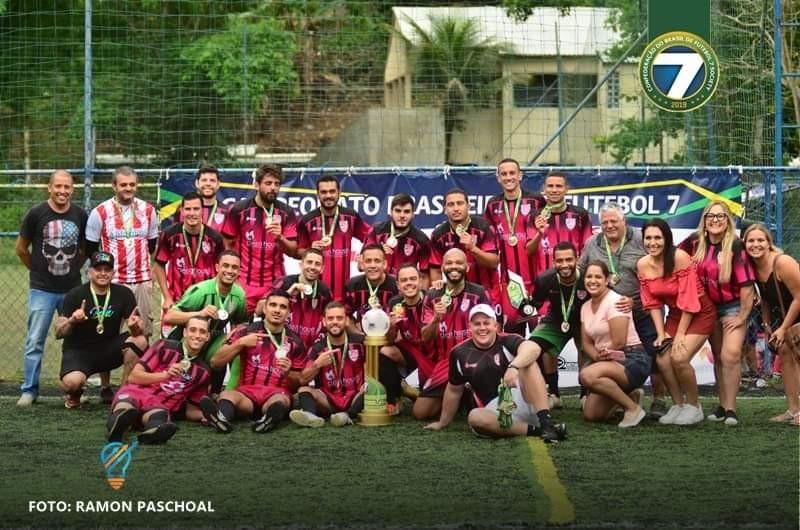 Kones FC Campeão do Campeonato Brasileiro de Futebol 7