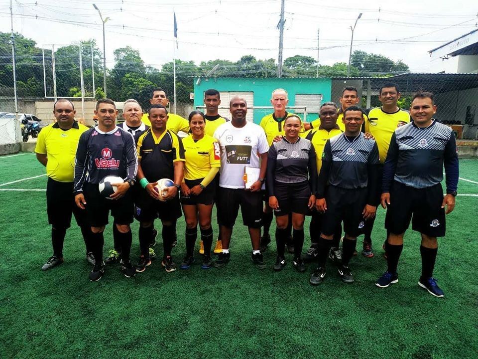 Terceiro curso nacional de oficiais de arbitragem de Futebol 7